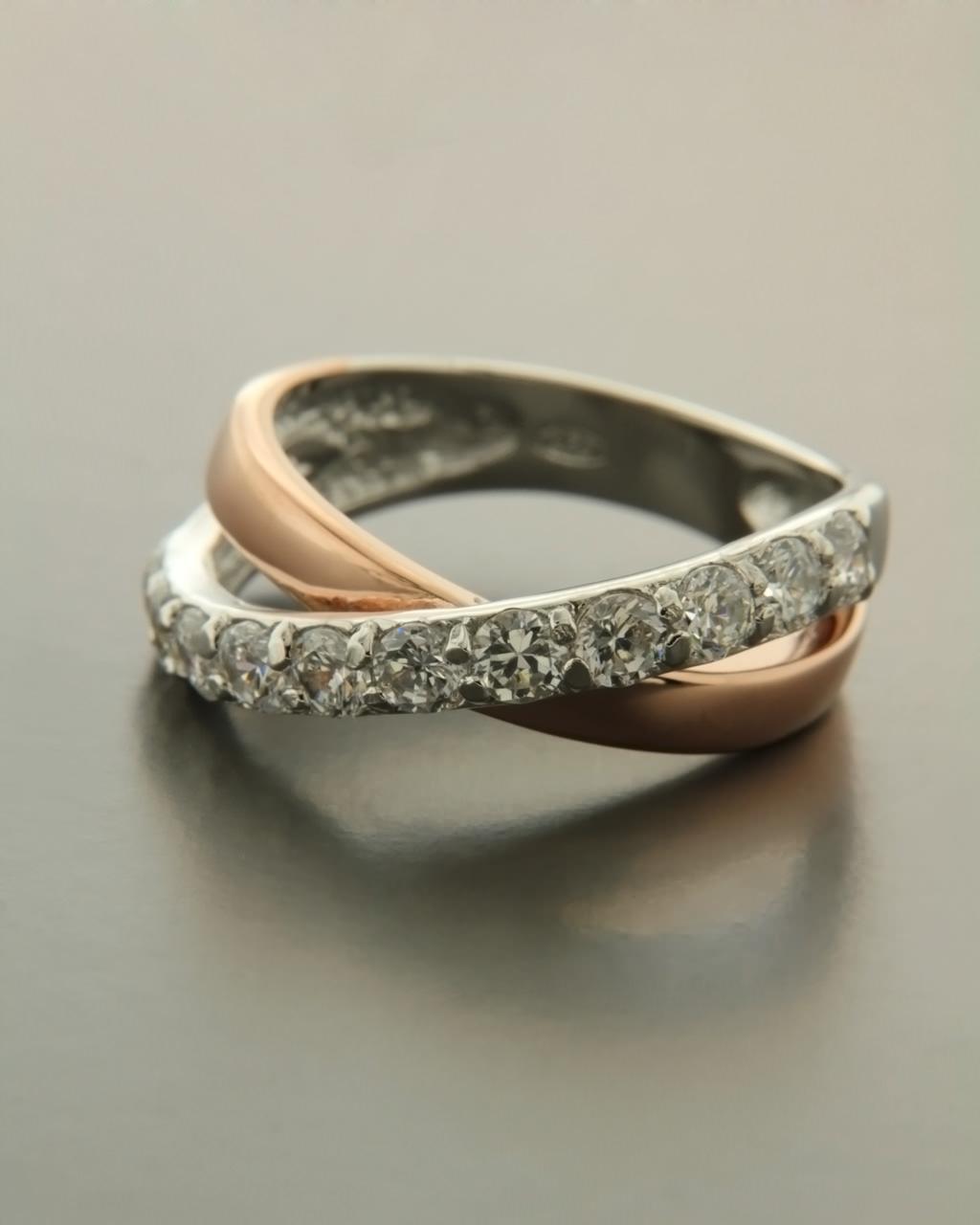 339cf1f102 Δαχτυλίδι ασημένιο 925 με Ζιργκόν