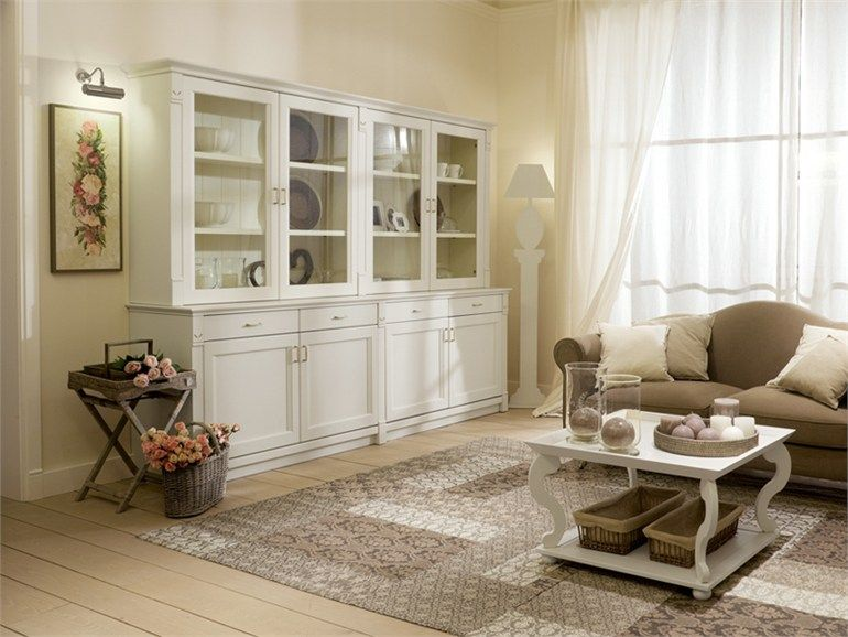 Provencal style wooden display cabinet English Mood Collection by ...
