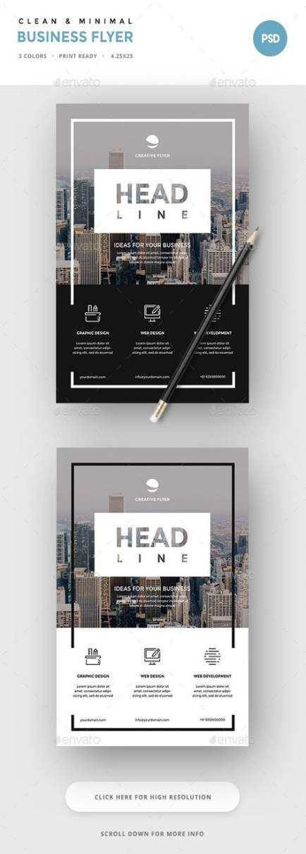 57 Trendy design flyer layout simple