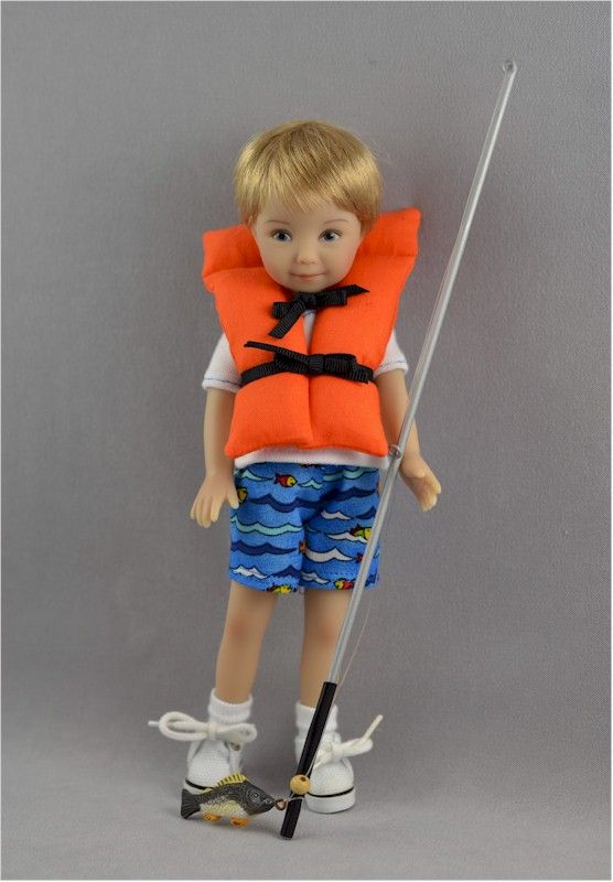 Tommy as The Little Fisherman