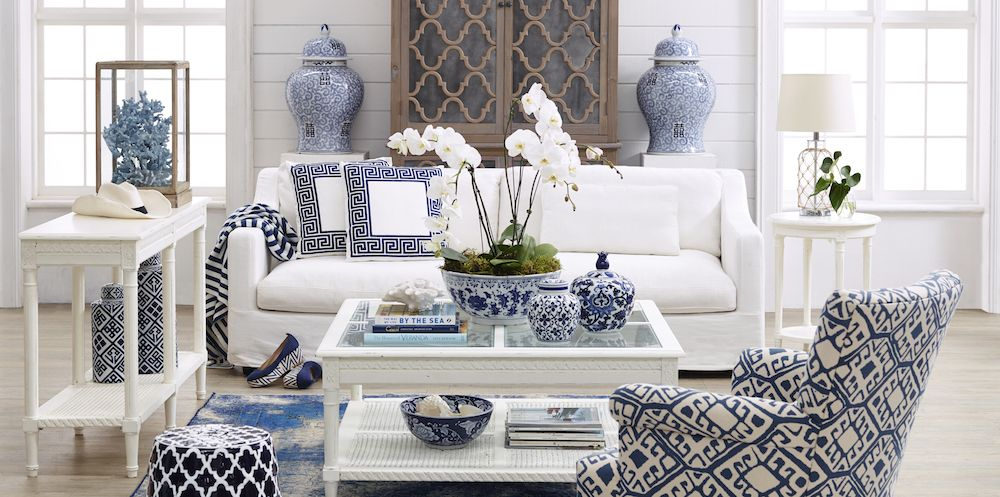 All pieces from Hamptons Style, Australia. Chinoserie