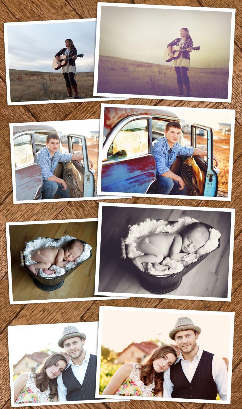 BEST ACTIONS!!!!!! Michelle Kane Photoshop Actions 4 Bundle
