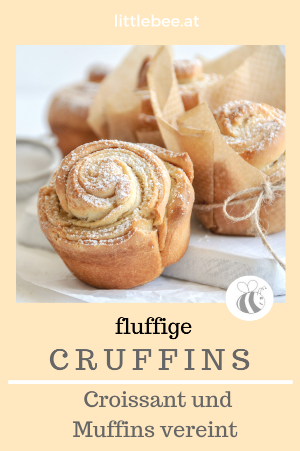 fluffige Cruffins | Muffins und Croissants als perfektes Team - LITTLEBEE - a food and family lifestyle blog