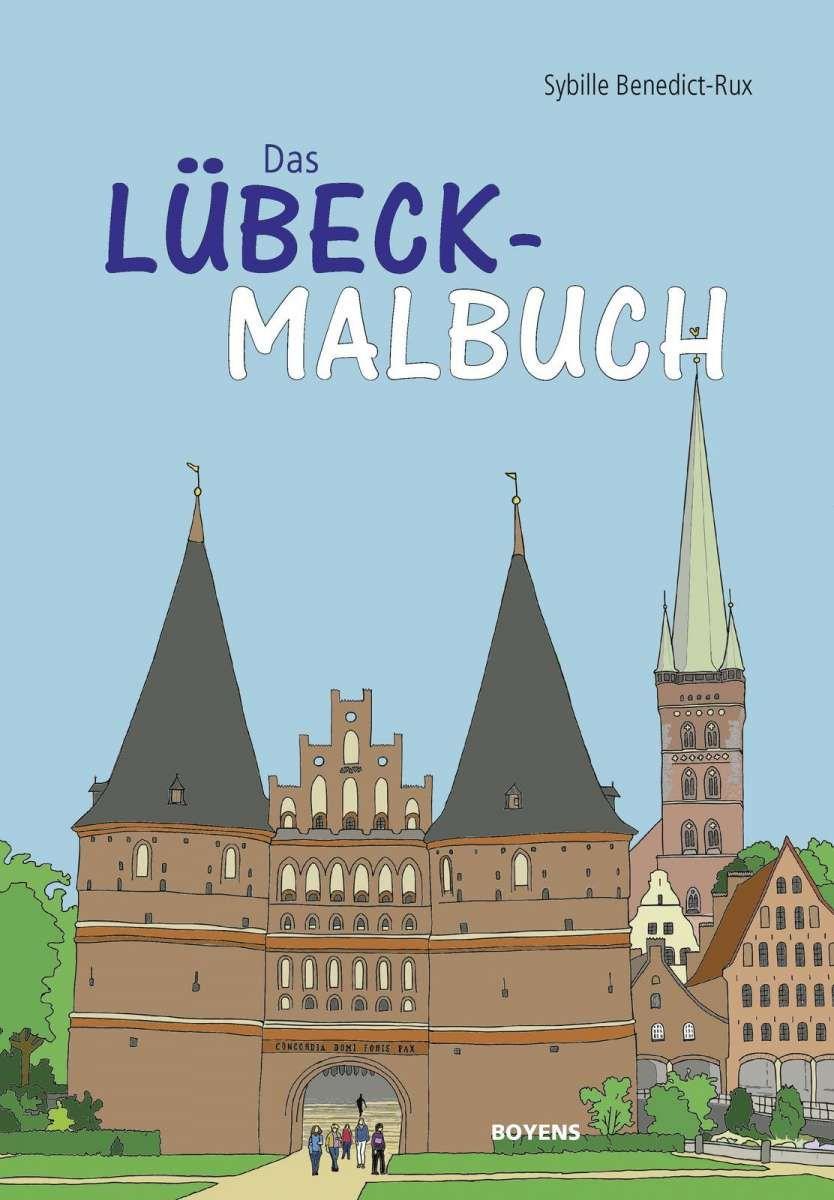 Das Lübeck-Malbuch | Lübeck-Motive | Pinterest