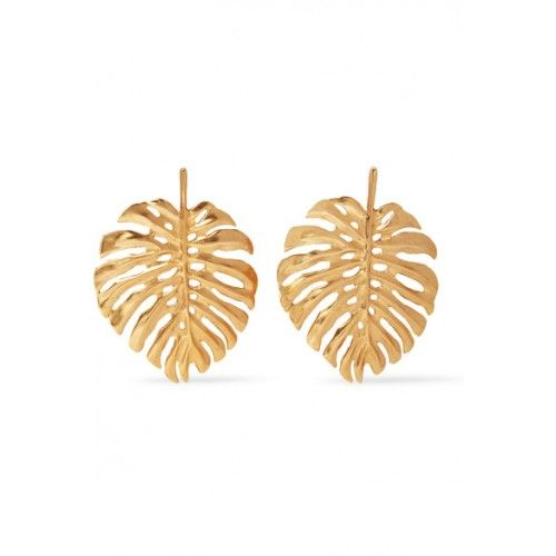 Gold-plated Clip Earrings - one size Oscar De La Renta Gl69JdB4