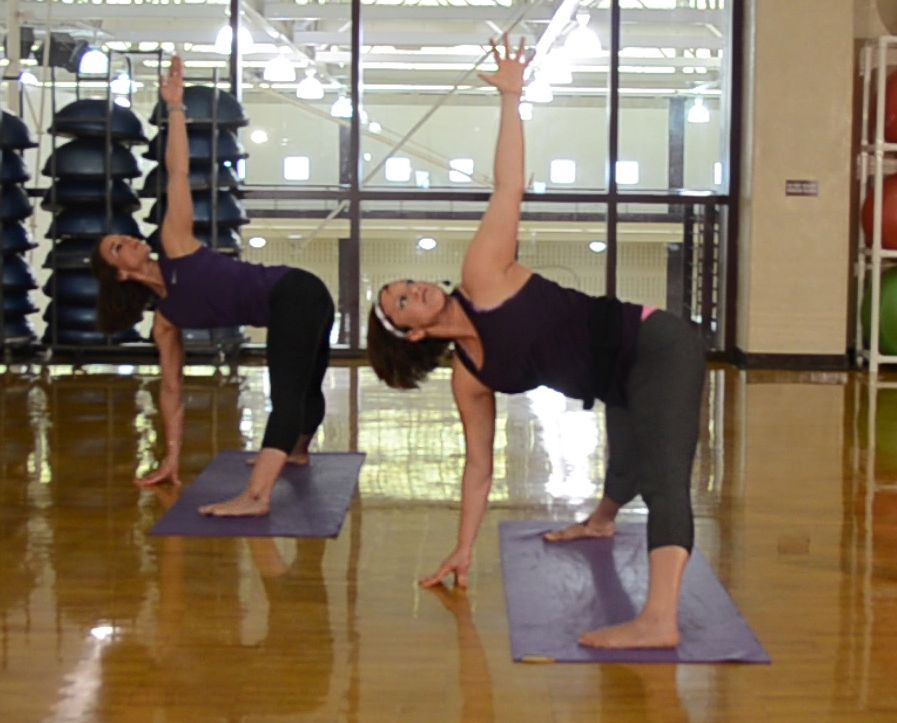 #SummerPrep yoga pose of the day is HERE! The Revolved ...