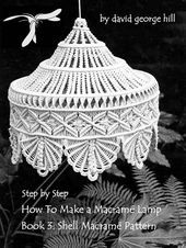 Since 1968 I have been making original macramé hanging lamps and many people ha  Macrame