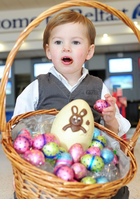 Little shea graffin is wishing the thousands of passengers little shea graffin is wishing the thousands of passengers travelling through belfast international airport this weekend a very happy easter negle Image collections