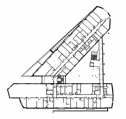 Triangle Architecture Plan