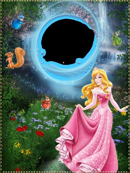 Princess Png Kids Frame Pinteres