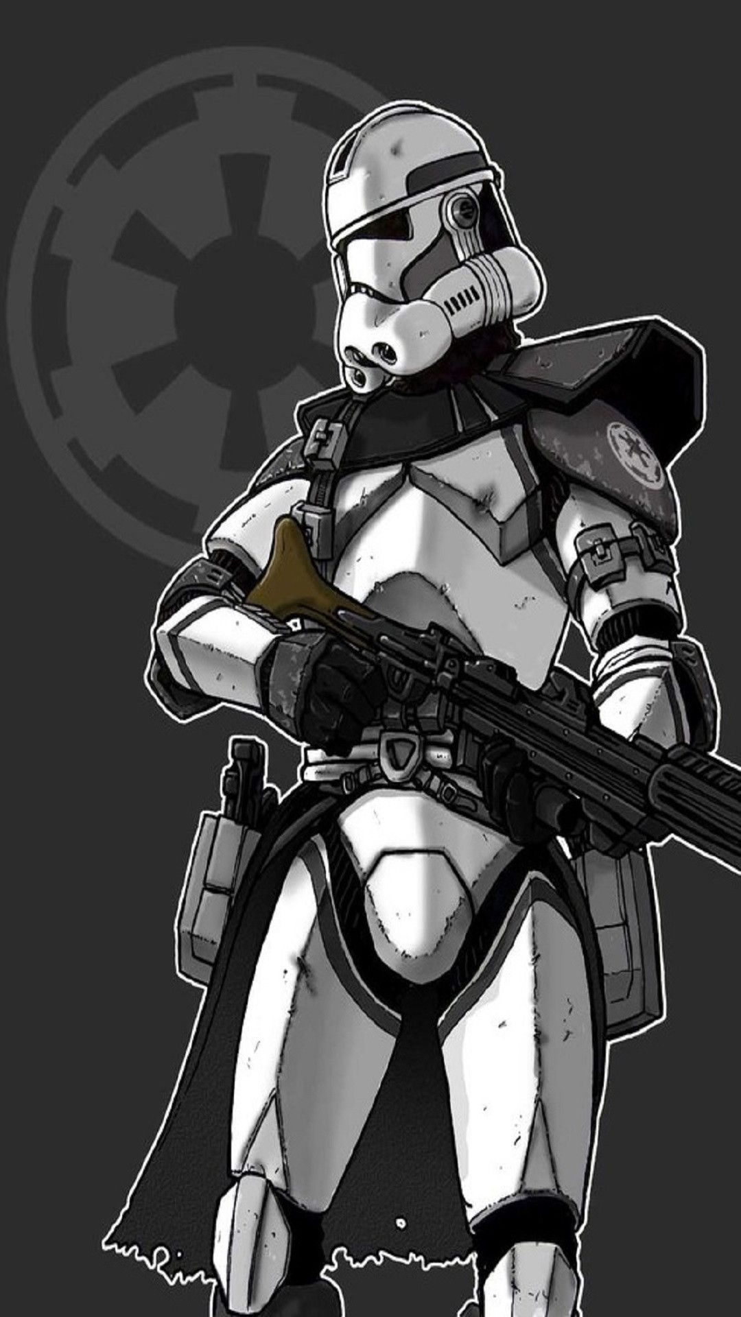 1080x1920 Star Wars Arc Trooper Or Heavy Clone Trooper Star Wars Trooper Star Wars Images Star Wars Artwork
