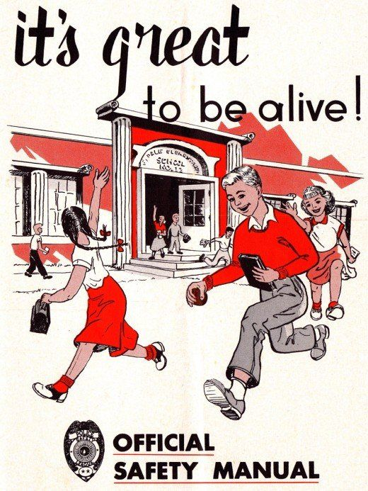 ItS Great To Be Alive Retro Safety Manual Uses Scare Tactics