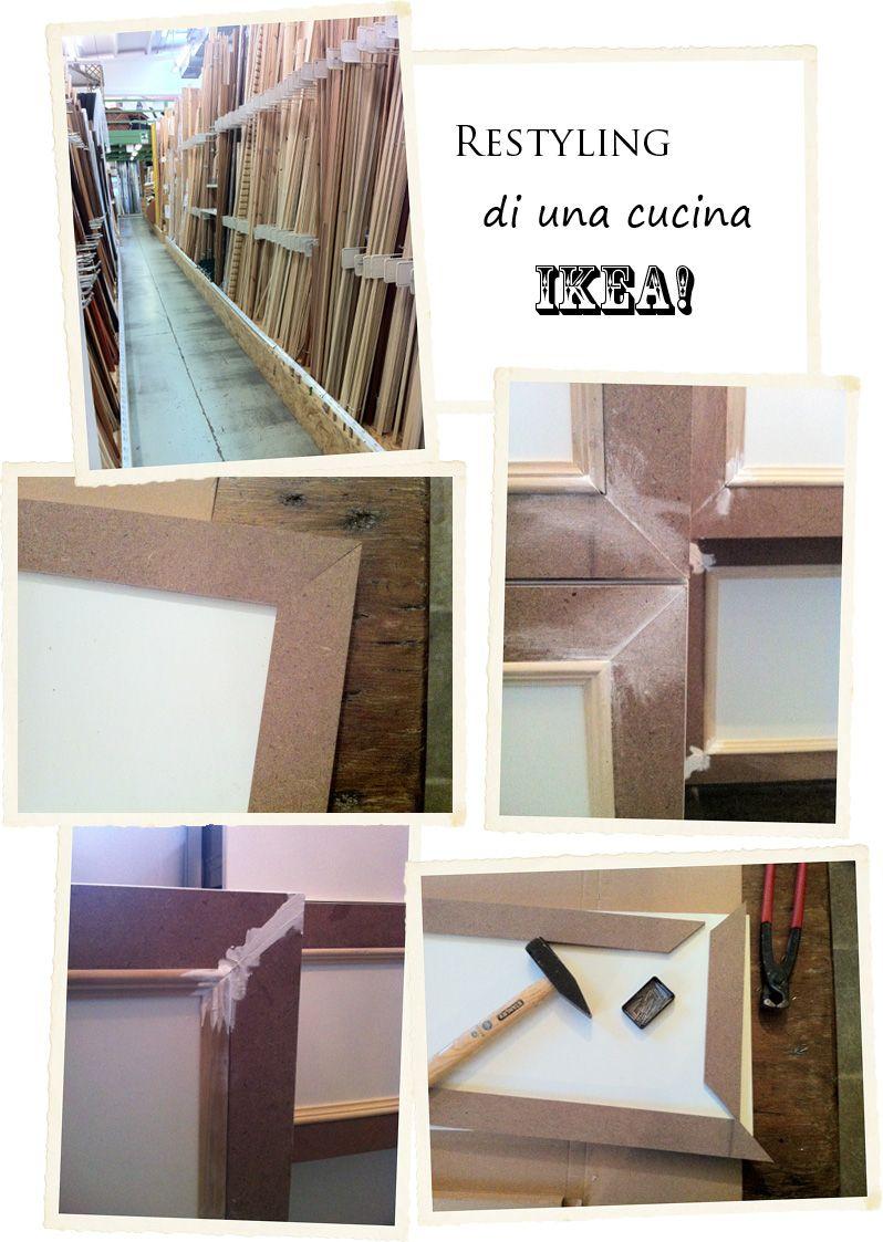 Shabby Chic Interiors: Restyling di una cucina Ikea | fai da te ...