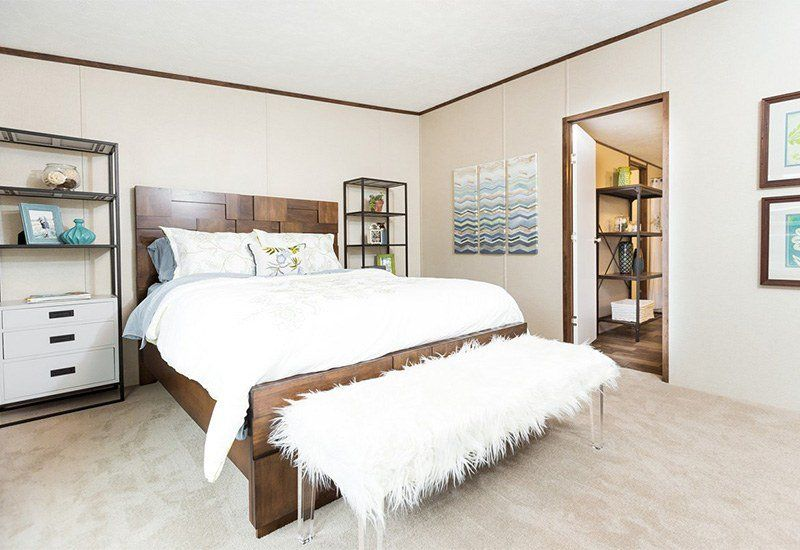 Thrill Tru28563r 3 Bed 2 Bath Double Wide Mobile Home For Sale Mobile Home Master Bedroom Home Home Decor Bedroom bath double wide mobile