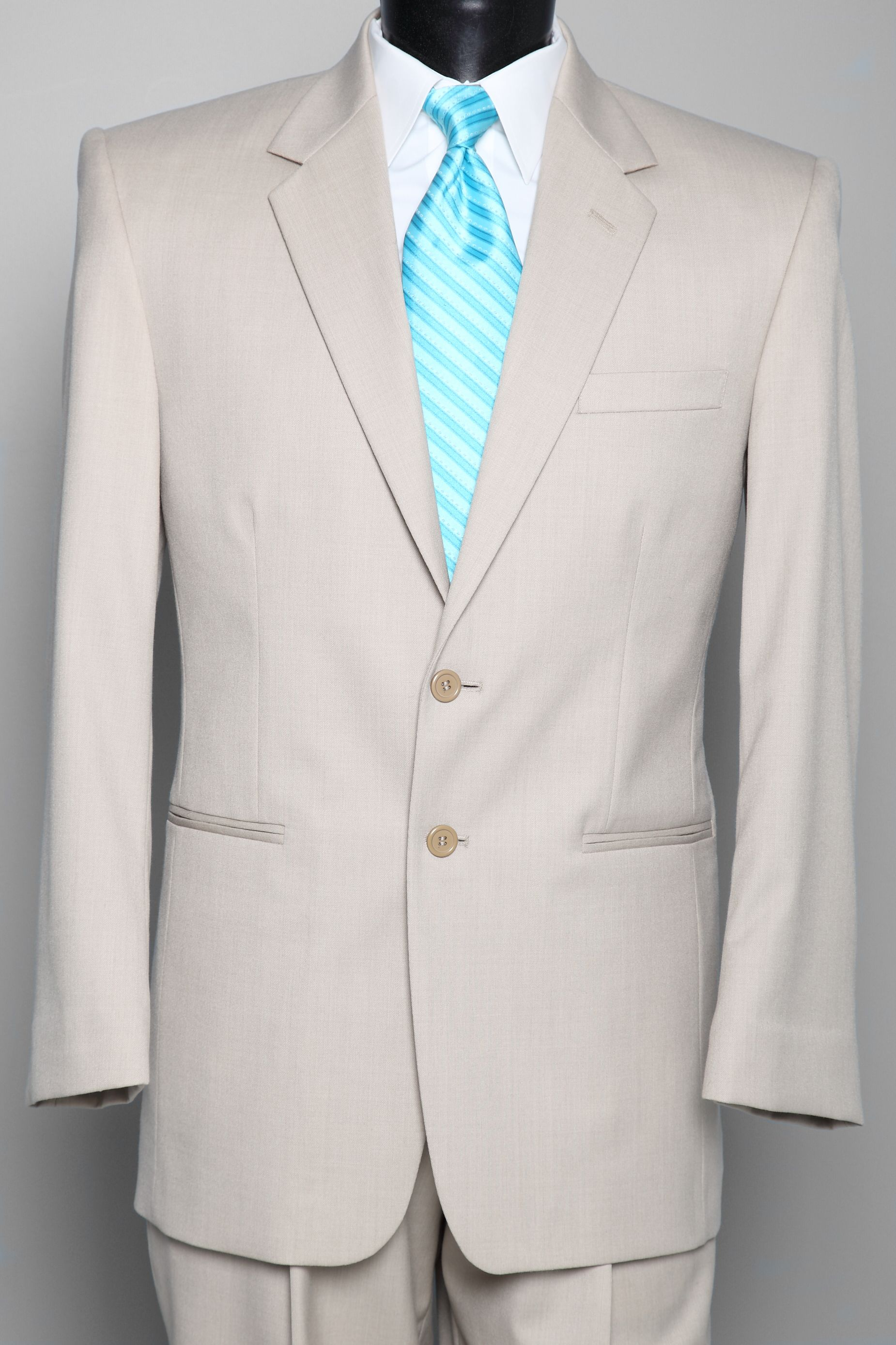 Grey suits with tiffany blue ties for the men. This is exactly what ...