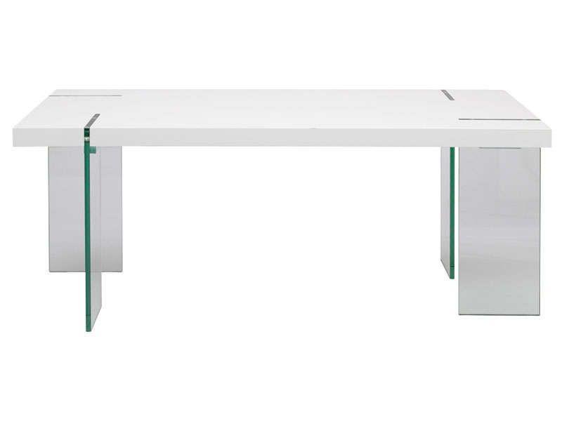 Table rectangulaire MARBELLA - Table de salle à manger Conforama