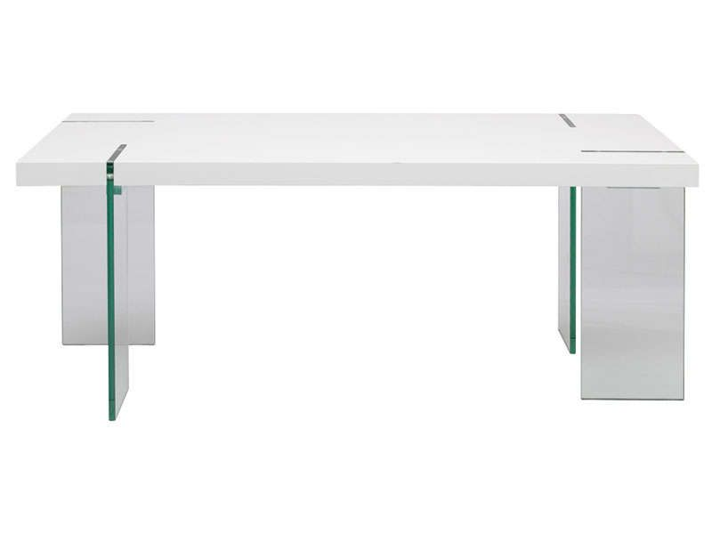 Table Rectangulaire Marbella  Conforama Meuble Pas Cher Et