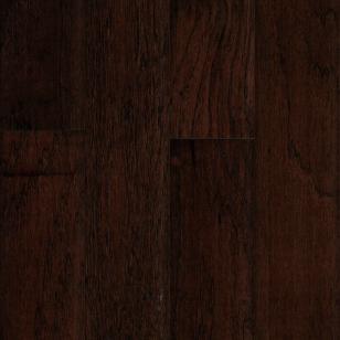 "Mohawk Hickory Espresso 1/2"" Thickness 5"" Wide Engineered Hardwood Flooring"