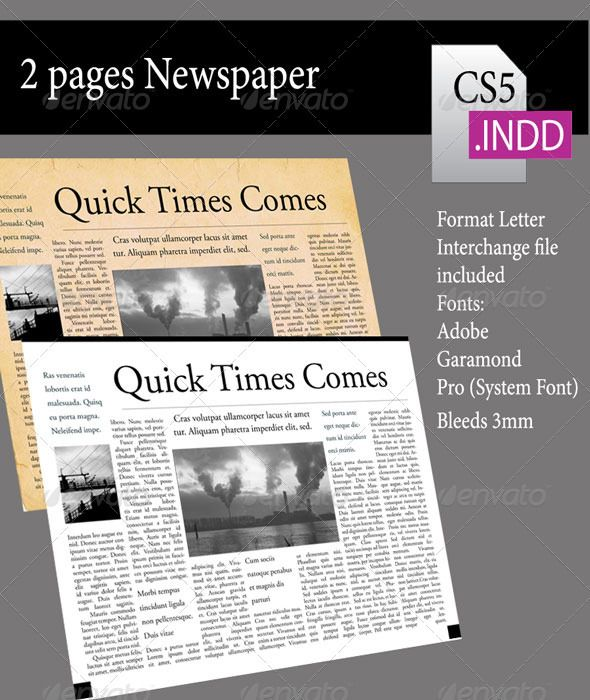 2 pages newsletter newsletter templates print templates and template