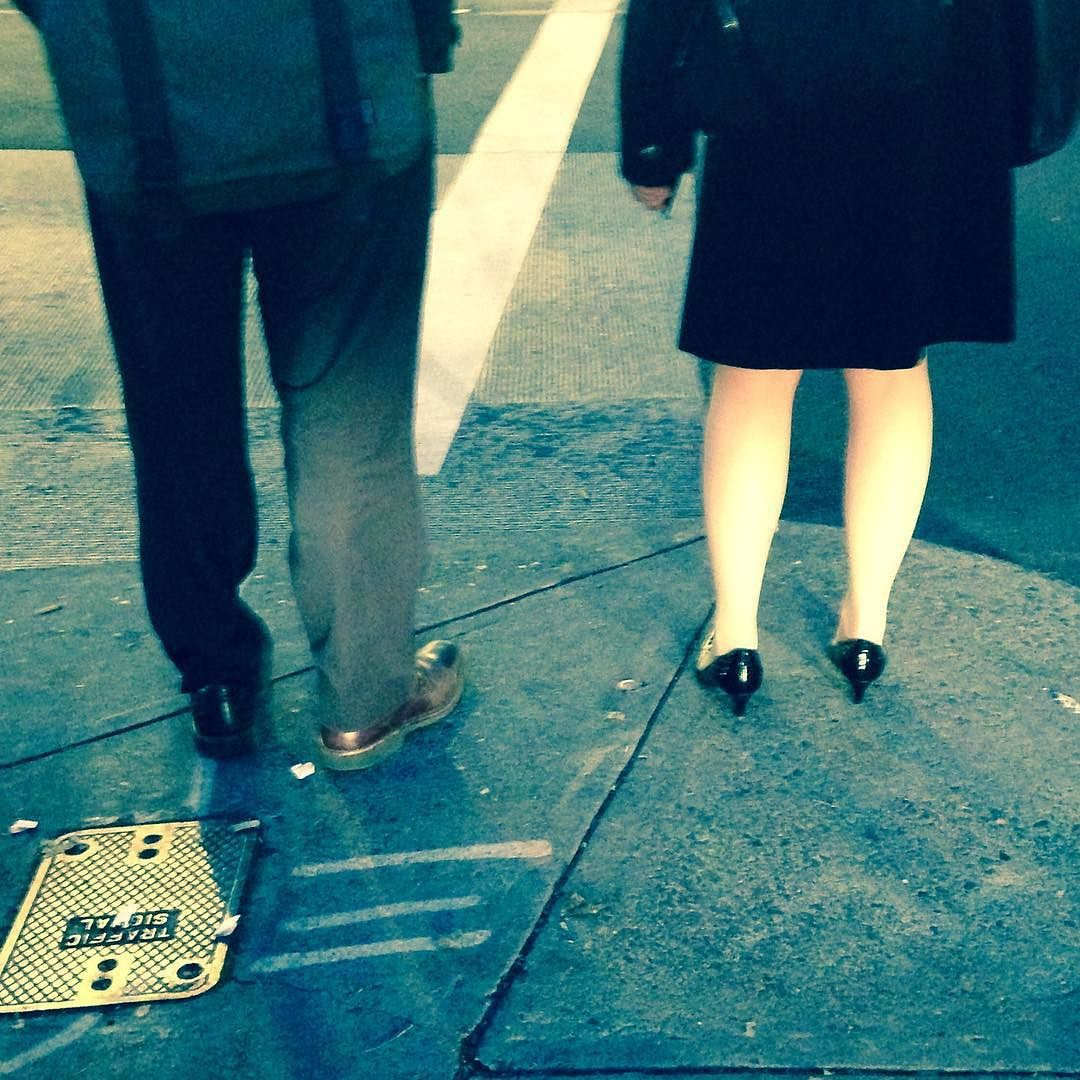 Walking the straight and narrow #StreetPhoto #PDX #Shoes #gender