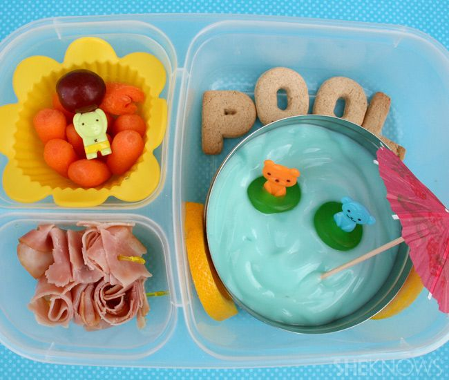 Summer pool party bento box lunch lunchboxes ideas pinterest summer pool party bento box lunch forumfinder Gallery