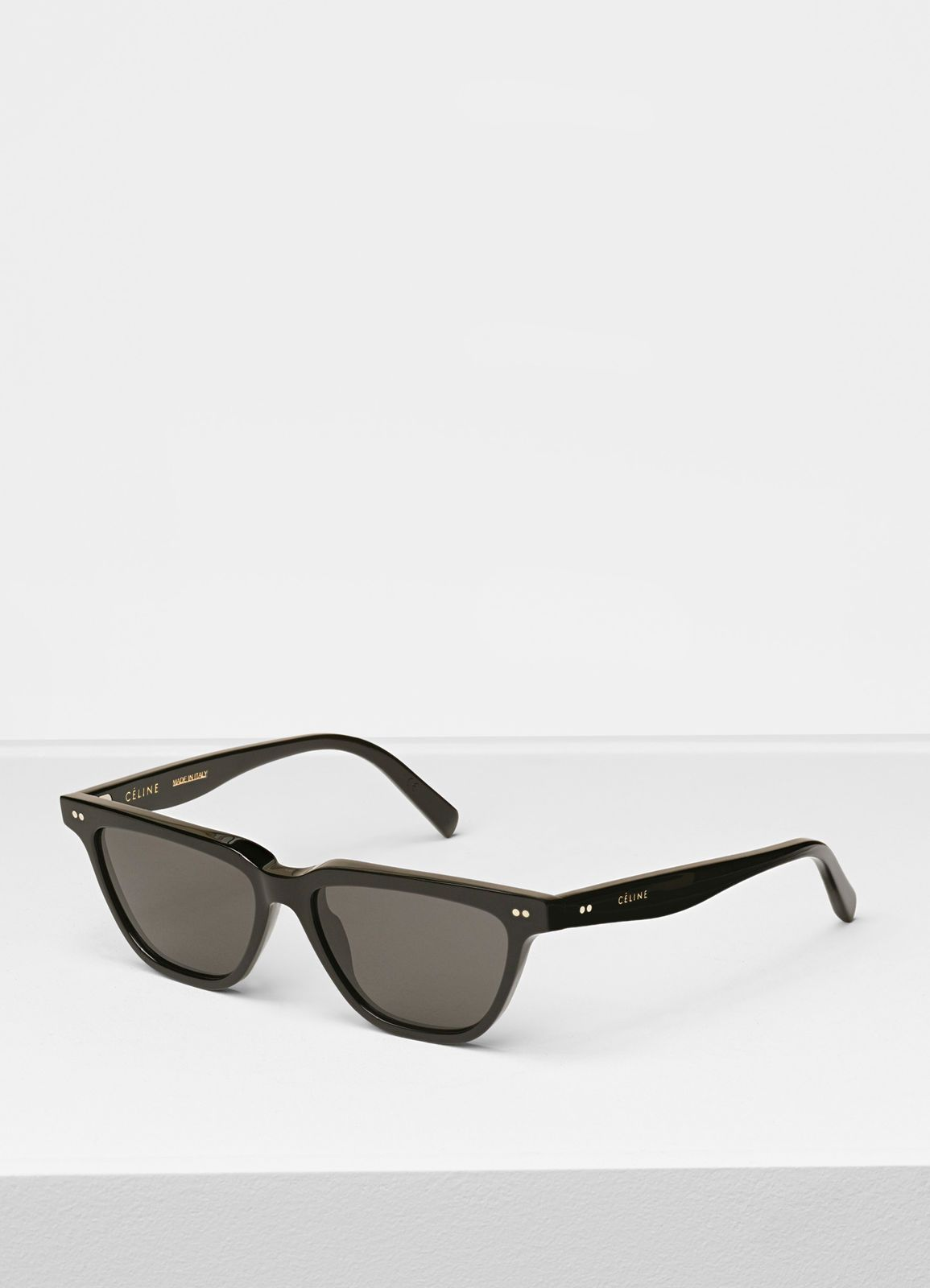 664054b8f8d Céline - Rectangular black sunglasses in acetate