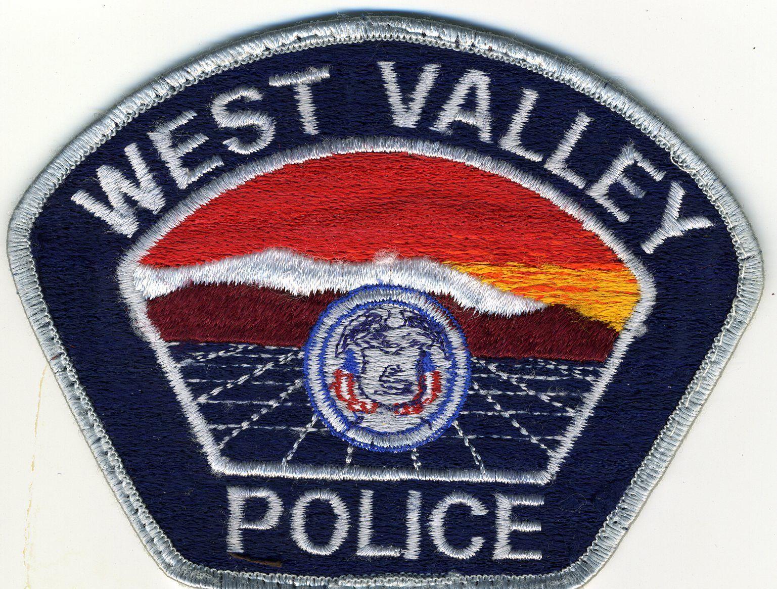 West Valley Police USED Patch Utah Ut West valley