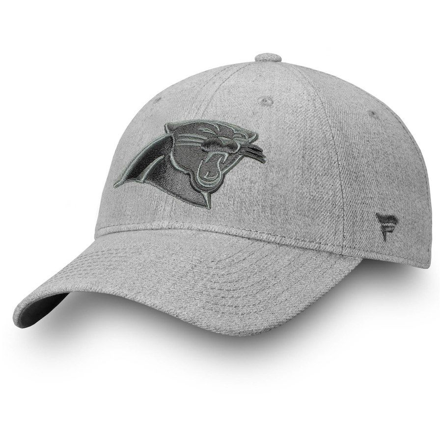 huge discount 6ab3e 95704 Men s Carolina Panthers NFL Pro Line by Fanatics Branded Heathered Gray  Logo Team Haze Adjustable Snapback Hat, Sale   16.49 - You Save   5.50