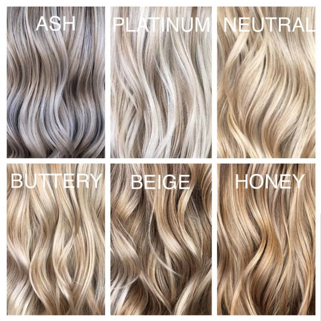 Pin By Brittany Bowe On Foilayage Hair Blonde Hair Shades Blonde Hair Color Chart Blonde Hair Looks