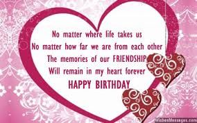 Birthday Card Messages For Friends