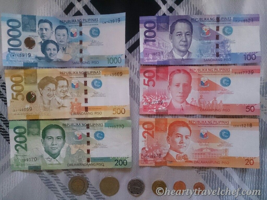 Philippine Peso Php Has Been The Official Currency Of Philippines