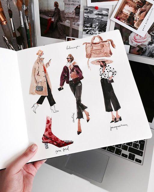 Photo of Bezdushna Fashion: DIY, Fashion, Lifestyle: ТОП-5 инстаграм-профилей о fashion иллюстрации