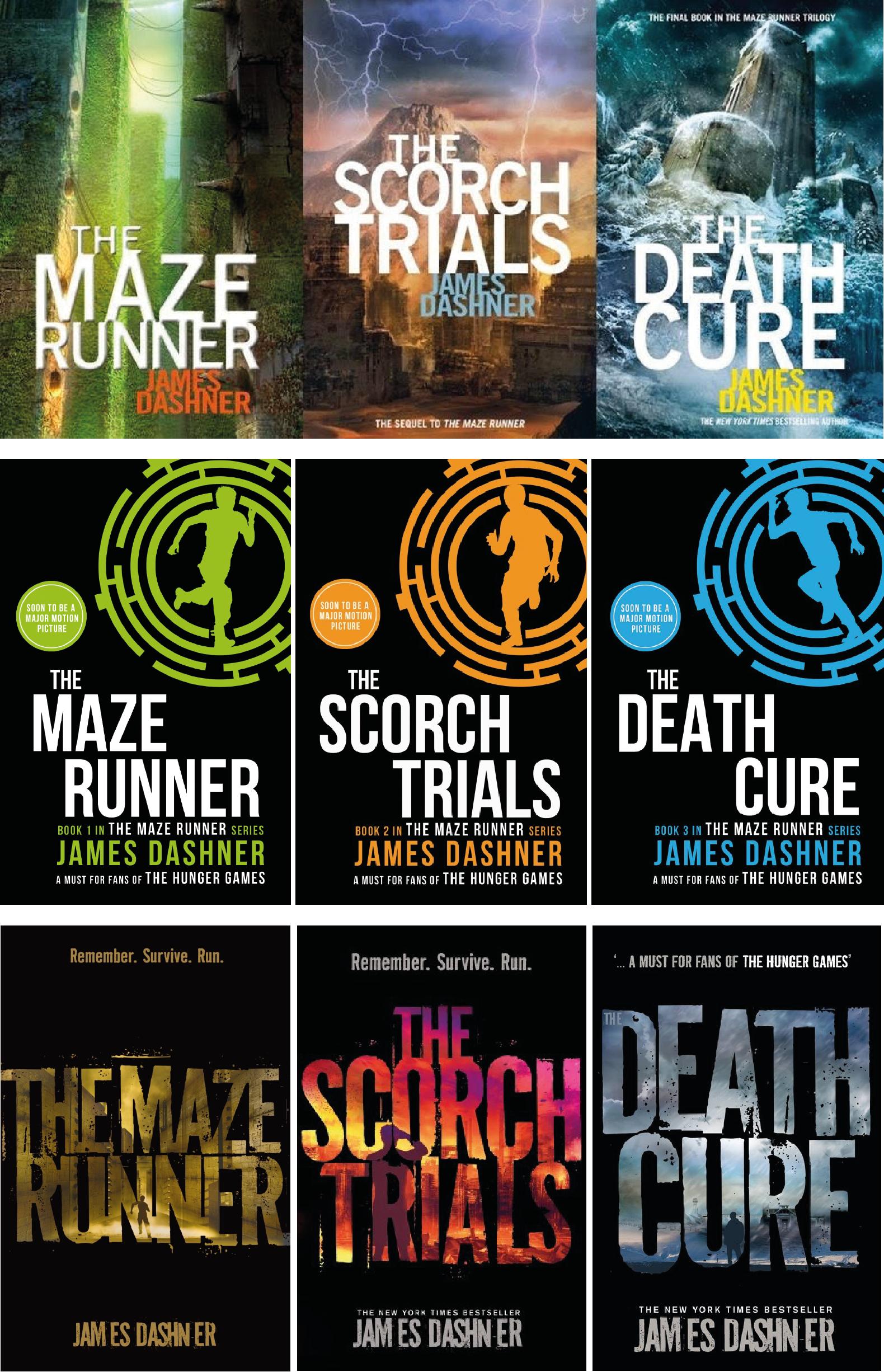 how many maze runner books