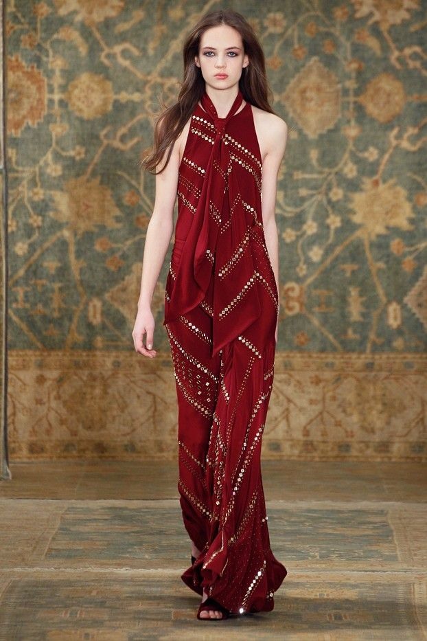 Tory Burch Fall 2015 Collection via @WhoWhatWear