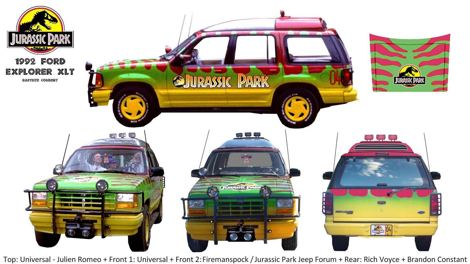Jurassic Park World Concepts Jurassic Park Jeep Jurassic Park