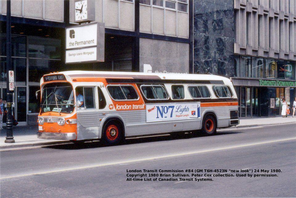 London Transit Gmc Fishbowl Bus System Tower Of London London