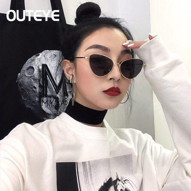 Aliexpress.com: Comprar Outeye mujeres cat eye sunglasses polarizado ...