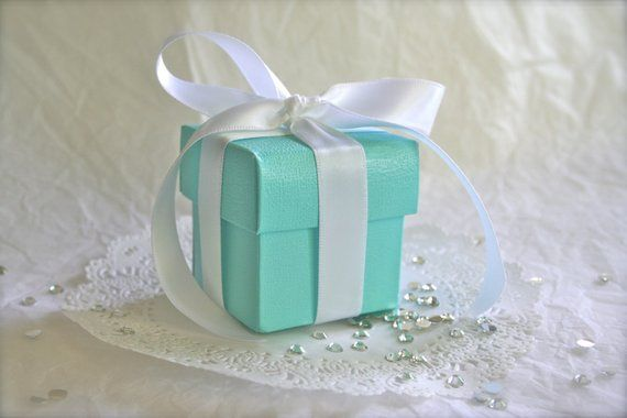 12 Boxes Robbins Egg Blue Jewelry Gift Favor Boxes