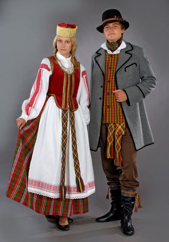 Costume Folklorique lithuanian (baltic) folk dresses | traditional costumes of the world