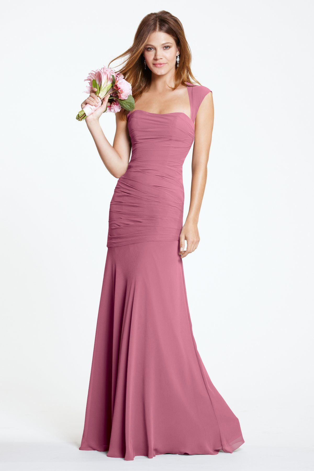Watters Maids Dress Iman | Wedding fashion | Pinterest