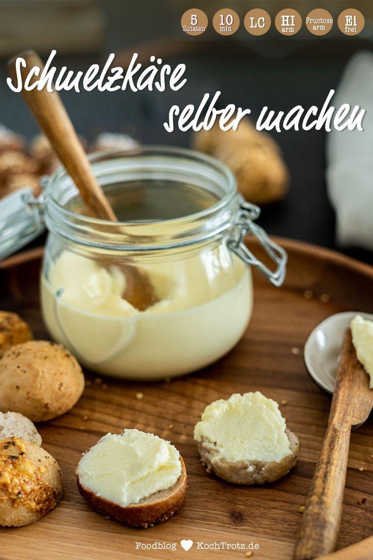 Schmelzkäse selber machen   histaminarm und optional laktosefrei - KochTrotz   Foodblog   Genuss tro