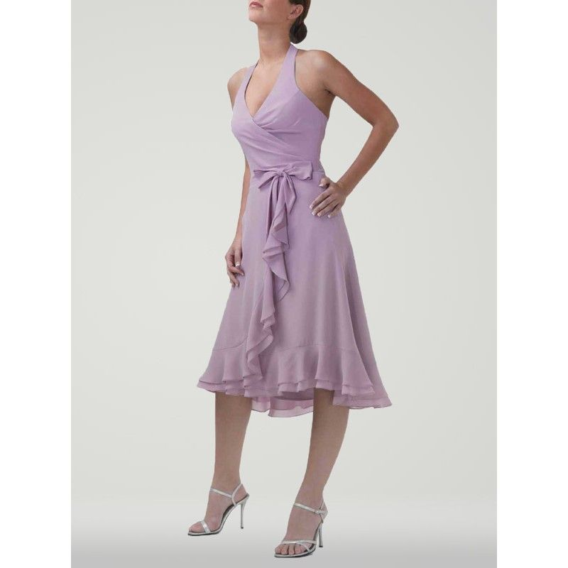 Da Vinci Wedding Gowns: 2013 Spring Chiffon Lavendar Bridesmaids