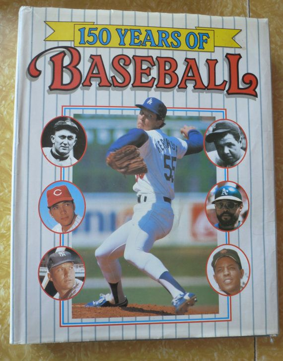 150 Years of Baseball Hardback Coffee Table Book by ...