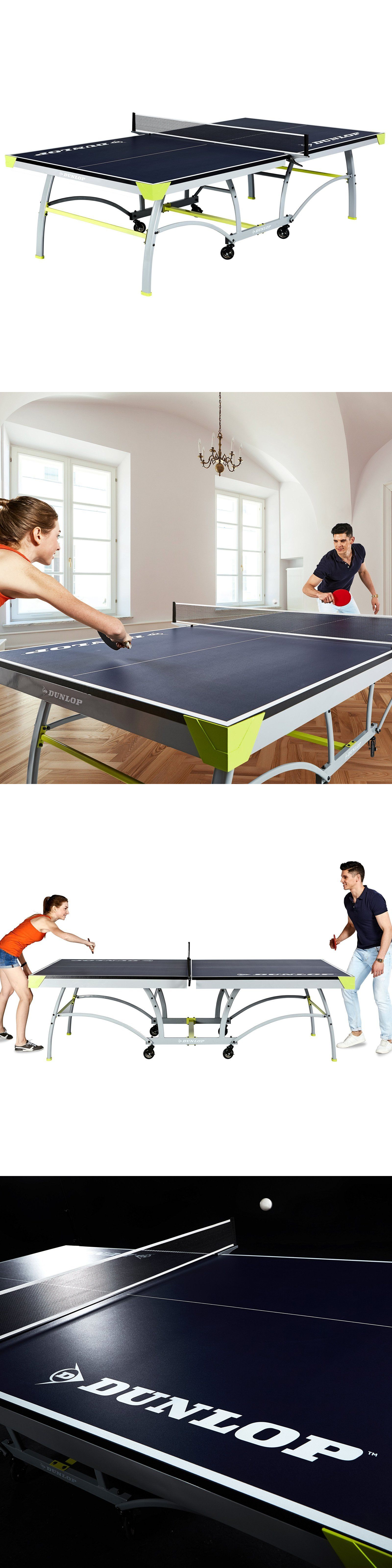 Paddles 36277: Tennis Table Indoor Outdoor 2 Piece Folding Tournament Size Ping  Pong Table
