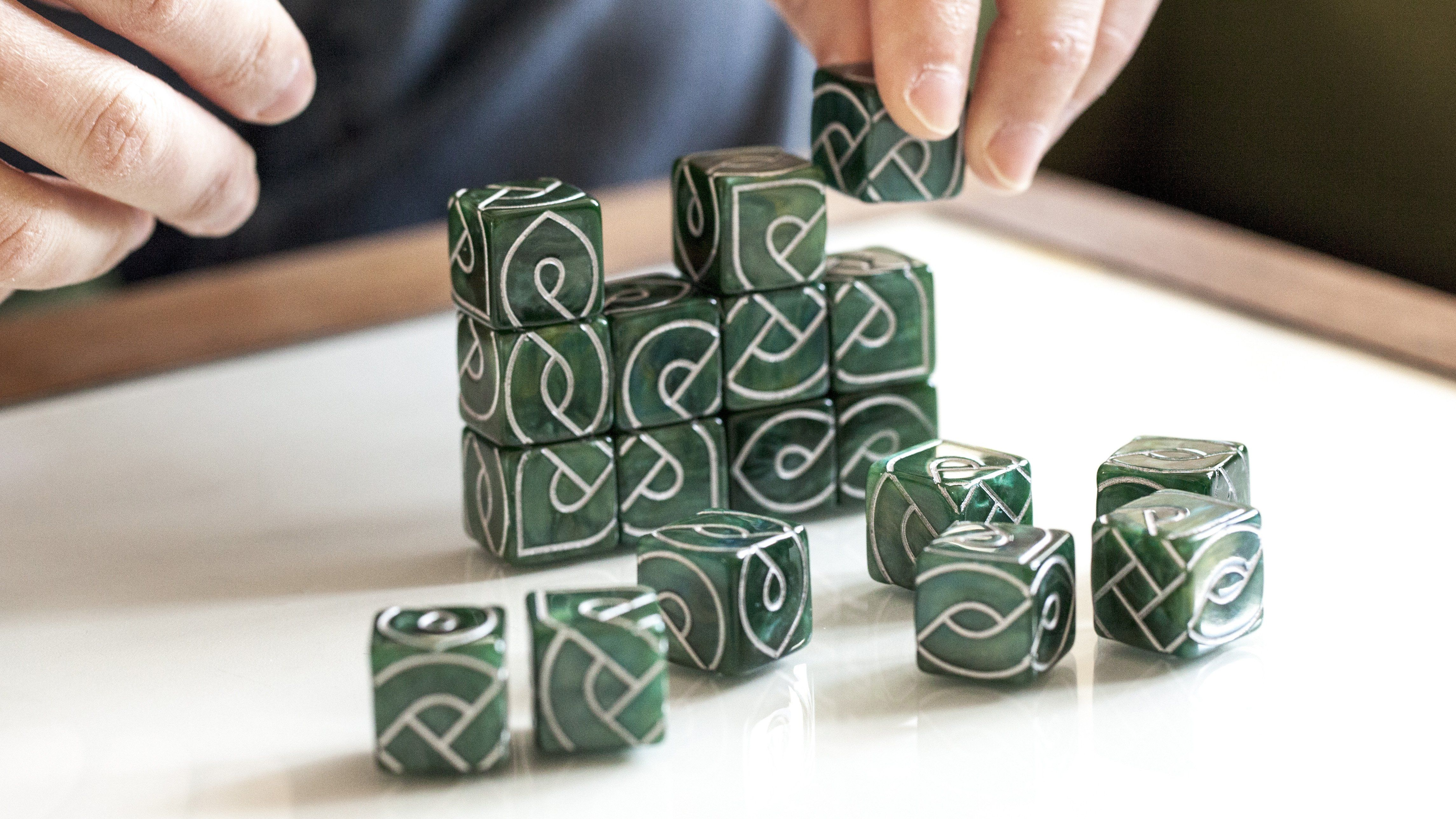 Knot Dice Make Celtic Knots In Games Puzzles And Art Celtic Knot Designs Celtic Knot Celtic Designs