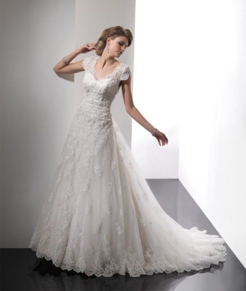 This will be my wedding dress