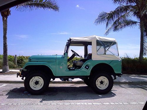 Jeep CJ5 In Love