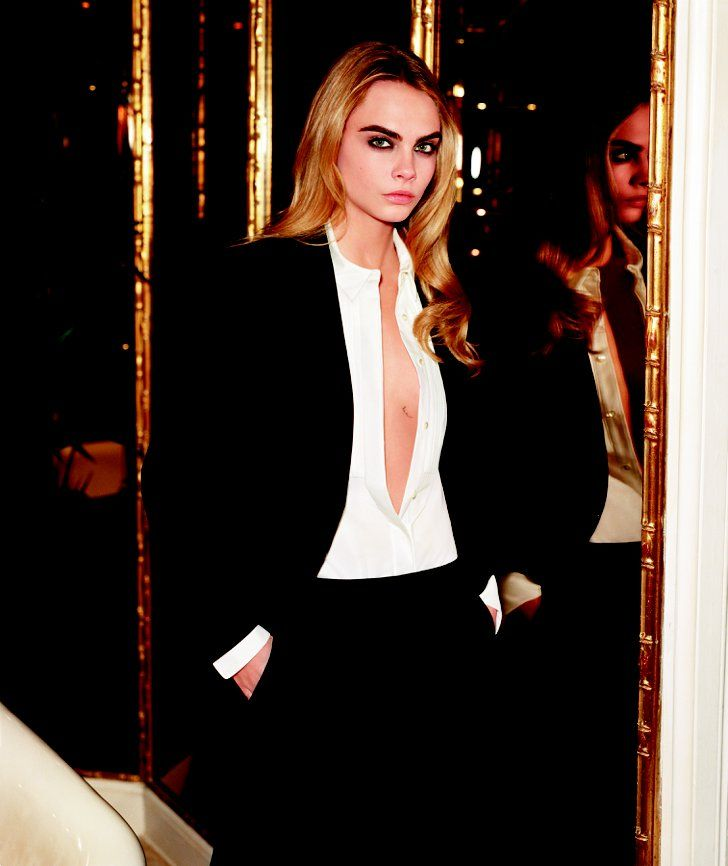 Pin for Later: Unschlagbares Duo: Cara Delevingne modelt für Topshop Cara Delevingne For Topshop Quelle: Topshop