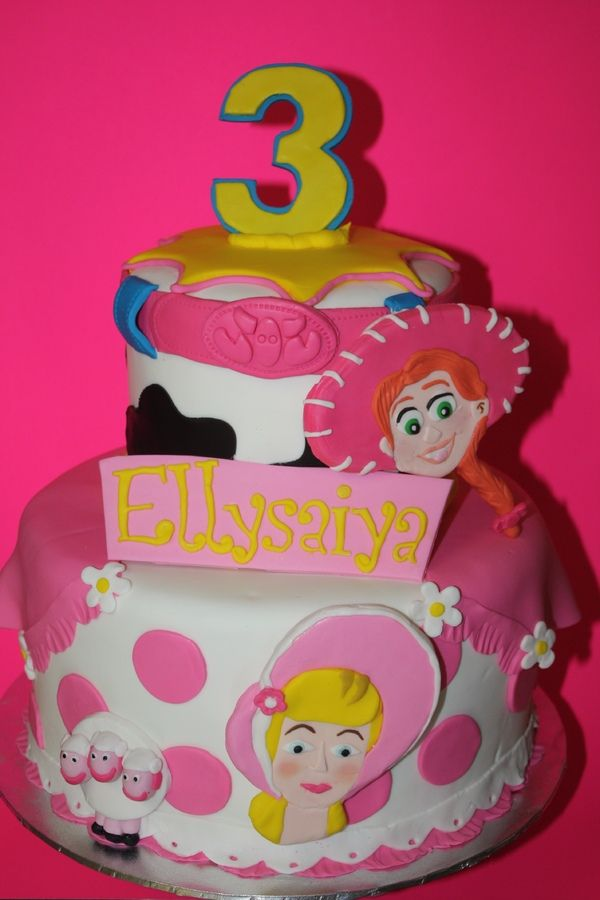Toy Story Girl Cake With Images Toy Story Birthday Cake Toy