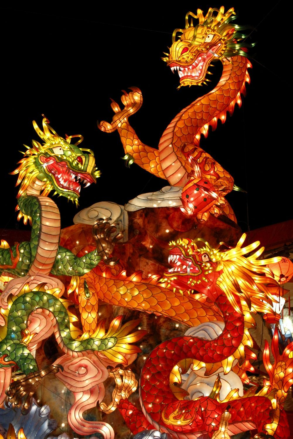 Nagasaki Lantern Festival, Japan ねぶた祭り, 花燈, 長崎ランタンフェスティバル